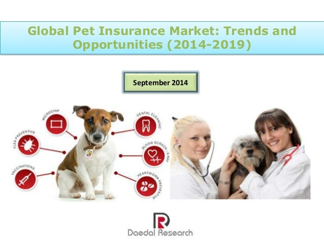 Global Pet Insurance Market: Trends and Opportunities ... Marketplace Insurance 2019