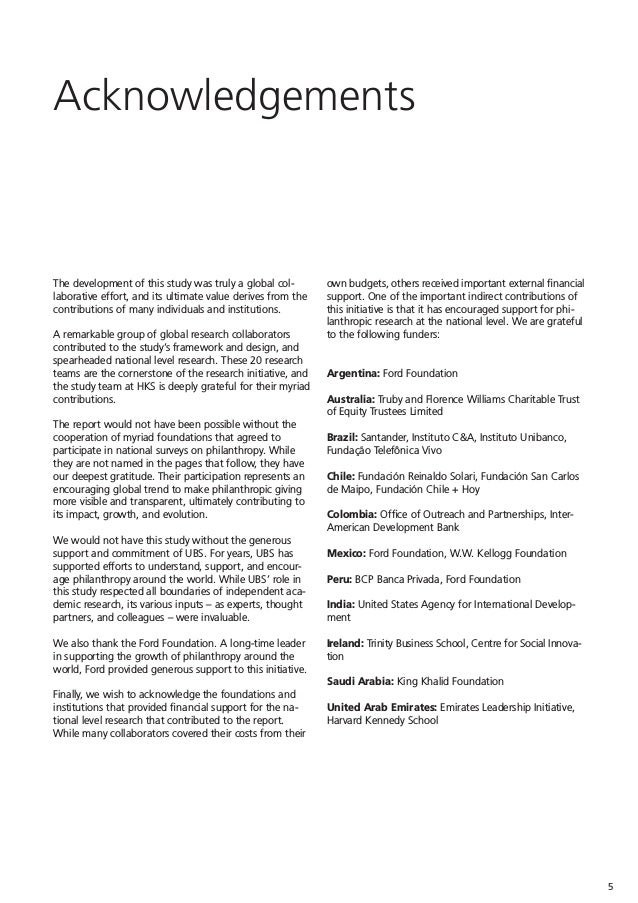 Global Philanthropy Report  Perspectives on the global foundation sec…
