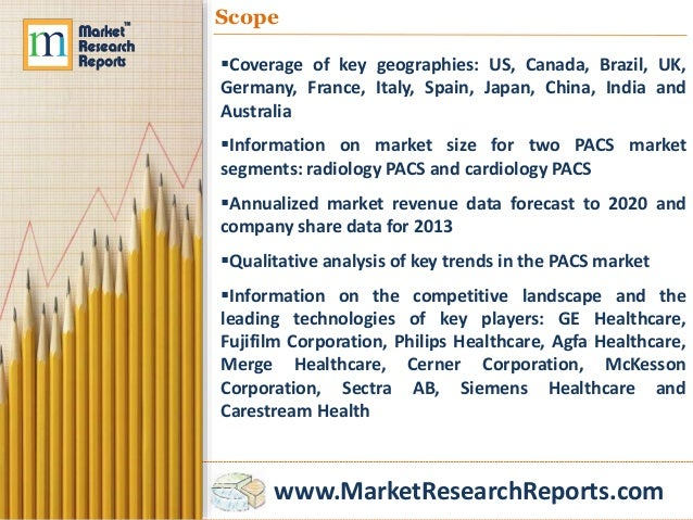 picture archiving and communication systems market Press release issued mar 18, 2016: the report picture archiving and communication systems market to 2020 - digitization of healthcare systems and evolution of pacs as a decision support.