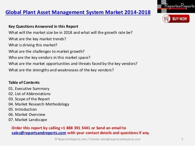 global plant asset management system market Asset performance management: strategies to mitigate risk asset performance management:  and managing risks to the plant's assets, know it's their asset.