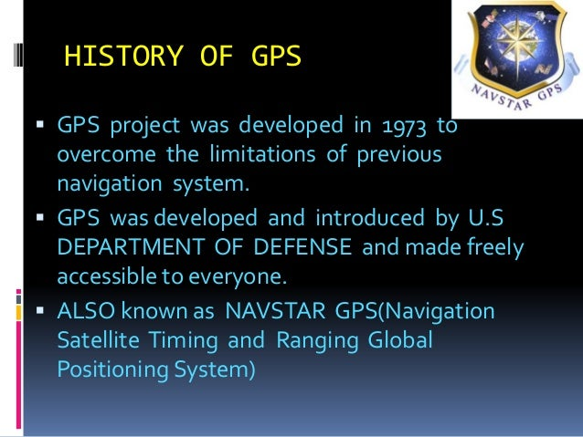 """the role and use of gps global positioning satellite The economic benefits of commercial gps use in the united states and the costs of potential disruption  """"global navigation satellite positioning solutions."""