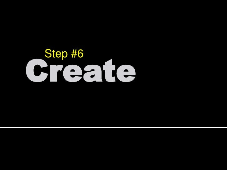 Step #4<br />Contribute<br />