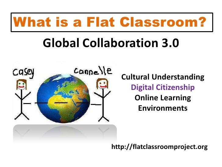 What is a Flat Classroom?<br />Global Collaboration 3.0<br />Cultural Understanding<br />Digital Citizenship<br />Online L...