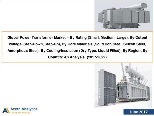 Global Power Transformer Market – An Analysis (2017-2022) By