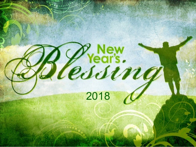 2018 New Years Blessing - Globalprayerforce.com