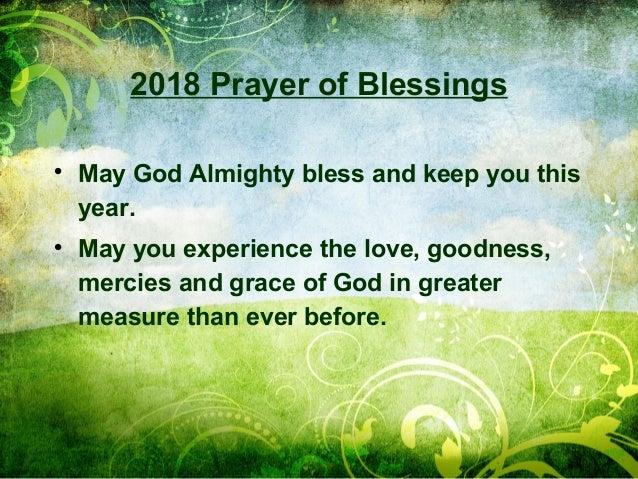 2018 New Years Blessing - Globalprayerforce.com