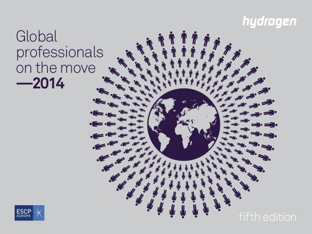 Copyright ©2014 Hydrogen Group plc. All rights reserved Global professionals on the move —2014 fifth edition