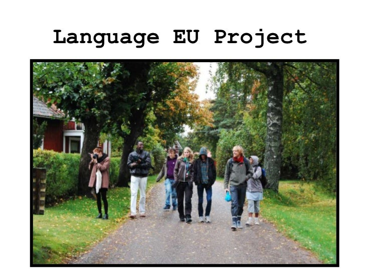 Language EU Project<br />