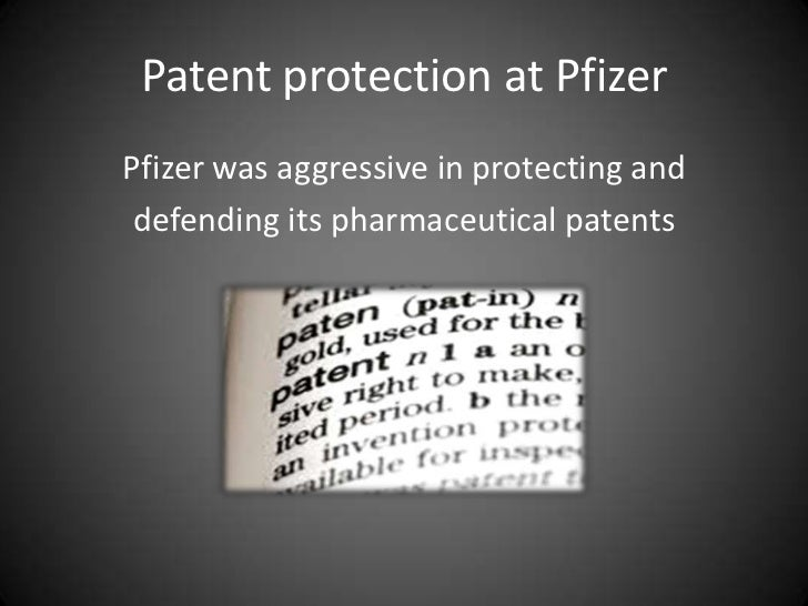 pfizer case study analysis