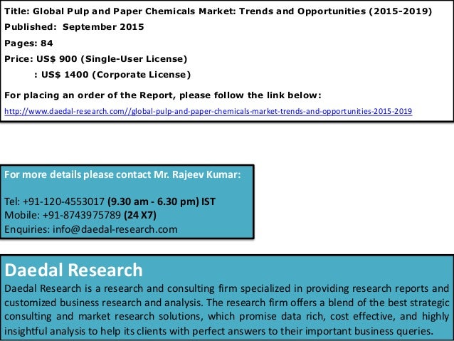 paper and pulp research institute The pulp and paper sector analysis for the climate strategies project on inclusion of swedish environmental research institute (ivl) lars zetterberg.