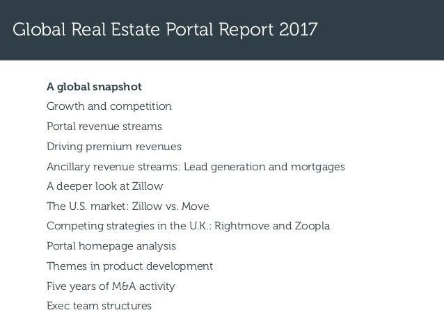 2017 Global Real Estate Portal Report