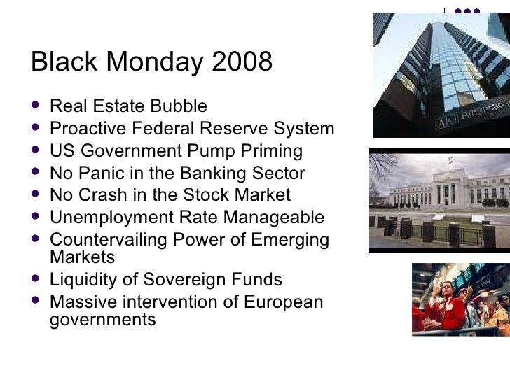 Black Thursday Stock Market Crash 1929 Global Recession -Impa...