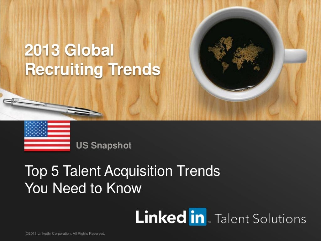 United States Recruiting Trends 2013 | English