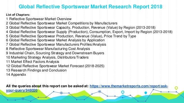great deals presenting aliexpress Global Reflective Sportswear Industry Analysis, Size, Market ...
