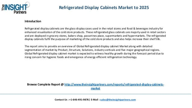 ... 2. Refrigerated Display Cabinets ...
