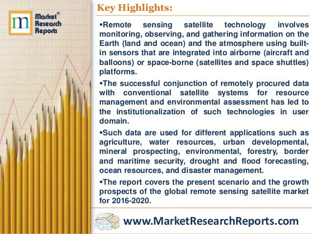 global environmental sensing and monitoring market The global market for environmental sensing and monitoring technologies is projected to reach us$174 billion by 2020, driven by the need to curb environment.
