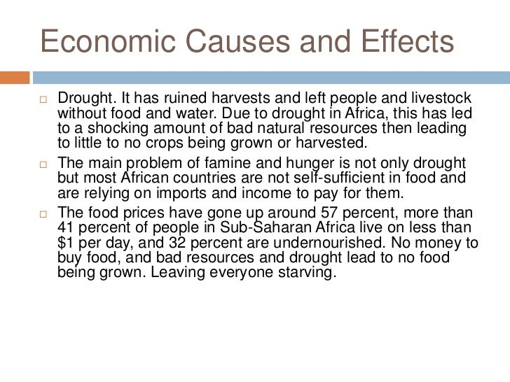 african famine research paper Famine in africa essay, research paper this paper is about two african 3rd universe states that have serious jobs with hungriness, ethiopia and sudan.
