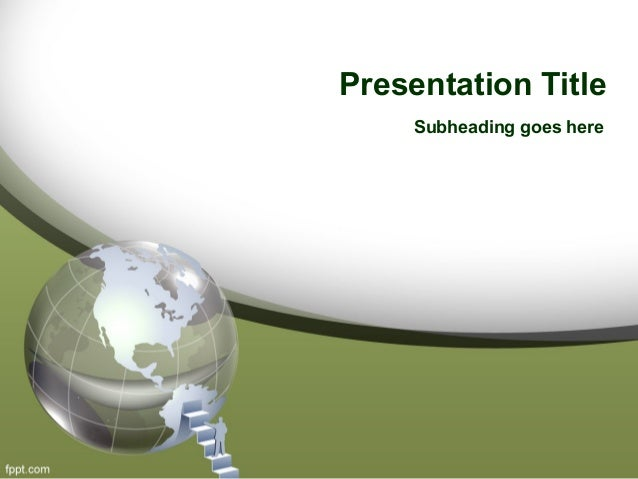 global resources powerpoint template free download and powerpoint bac…, Modern powerpoint