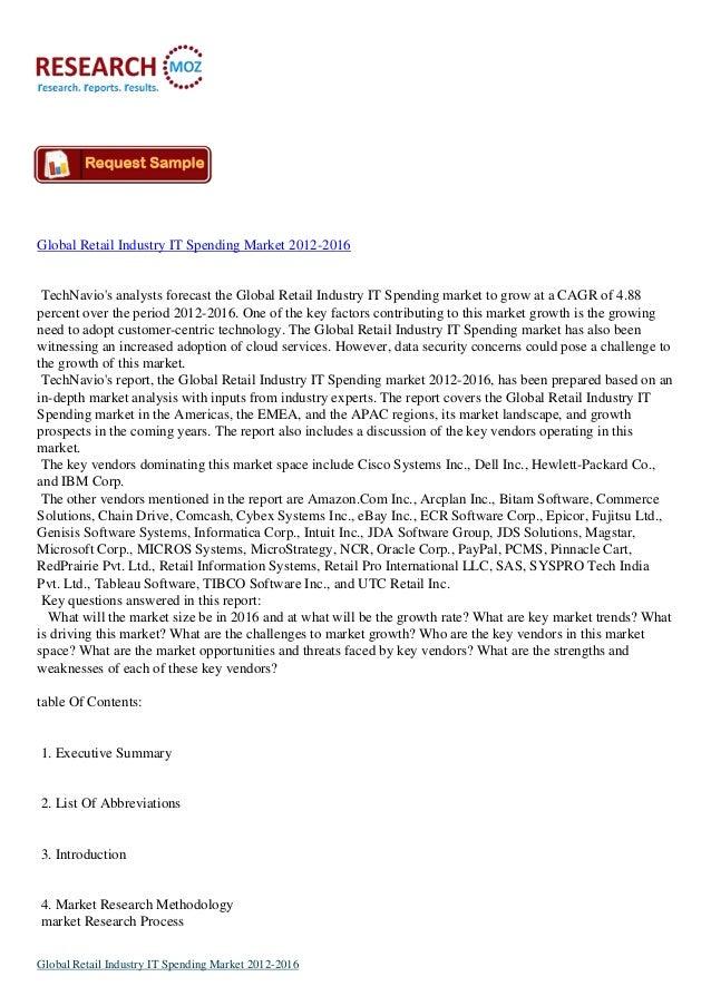 Global retail banking it spending market
