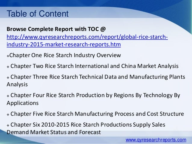 comprehensive analysis of rice production Discover all relevant statistics and facts on the world rice production, export and consumption now on statistacom smartphone industry analysis.