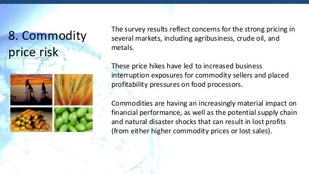 results of commodity flow surveys global risk management issues 8668