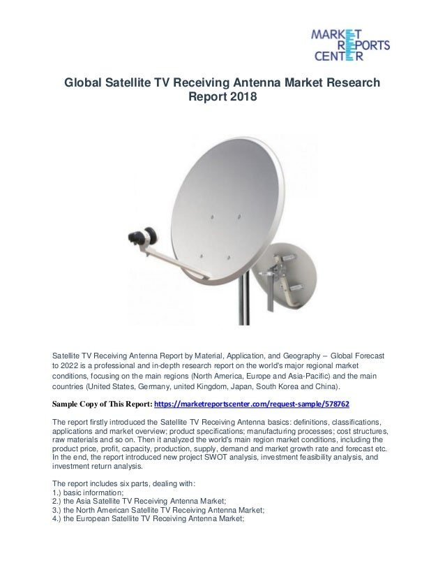 Global satellite tv receiving antenna market research report