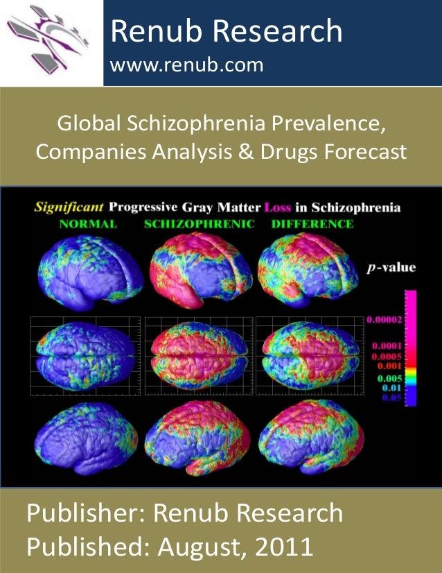 Global Schizophrenia Prevalence, Companies Analysis & Drugs Forecast Renub Research www.renub.com Publisher: Renub Researc...