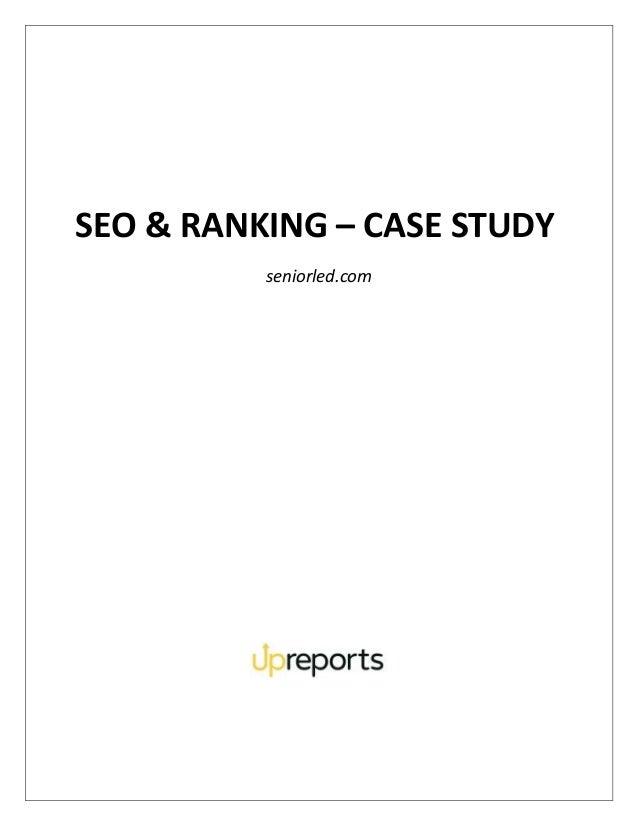 SEO & RANKING – CASE STUDY seniorled.com