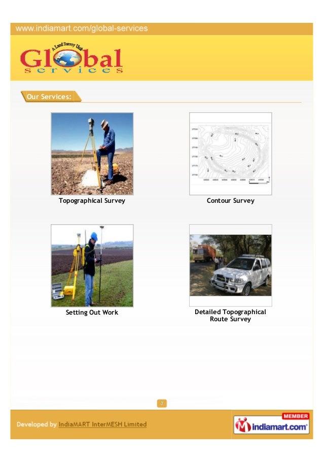 Global Services, Vadodara, Setting Out Work Slide 3