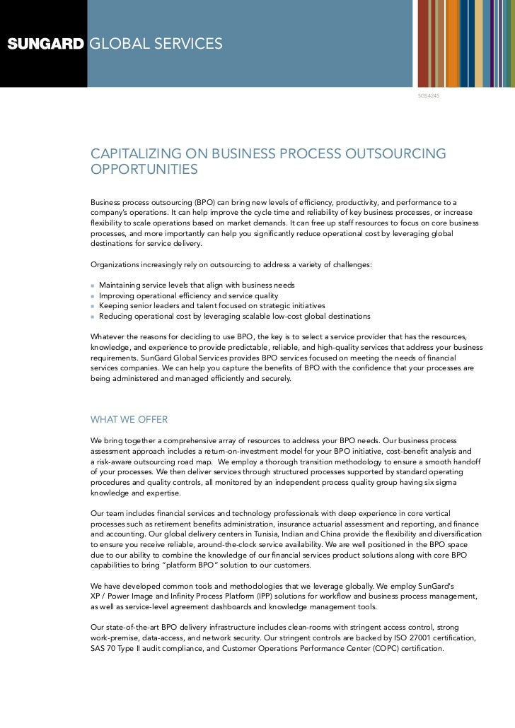Global Servicesbusiness Process Outsourcing