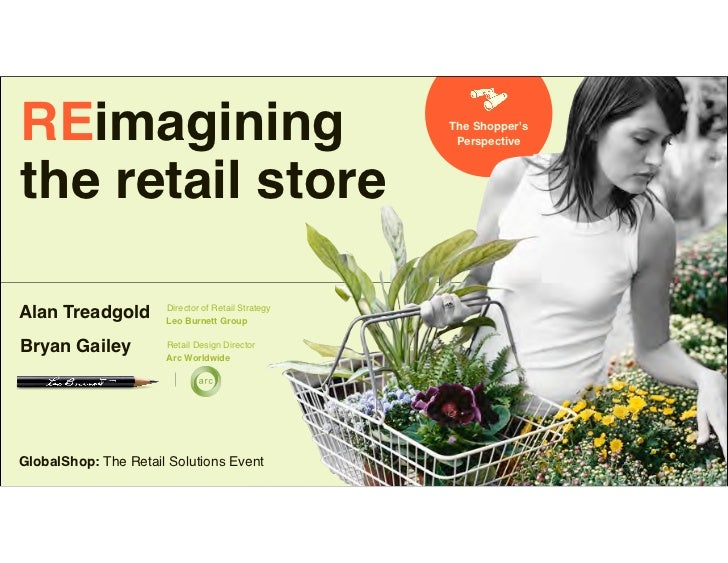 REimagining                                         The Shoppers                                                     Persp...