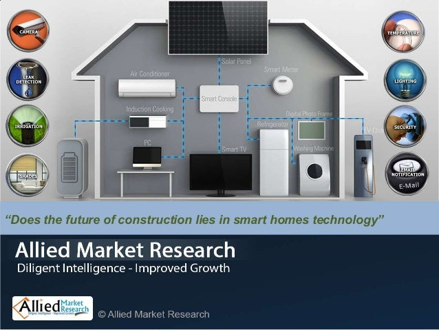 Technology In Homes global smart homes, buildings (energy efficient, automated) market (a…