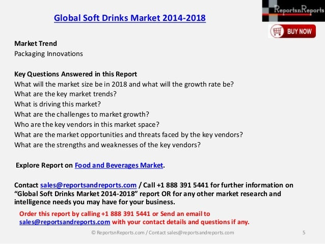 profitability in the soft drink market The non-alcoholic beverage industry broadly includes soft drinks and hot drinks  soft drinks contain carbonated or non-carbonated water,.