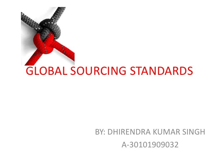 global sourcing master thesis ppt