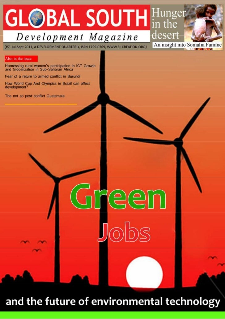 Global South Development Magazine is a quarterly magazine                 Marketing Managerpublished by Silver Lining Crea...