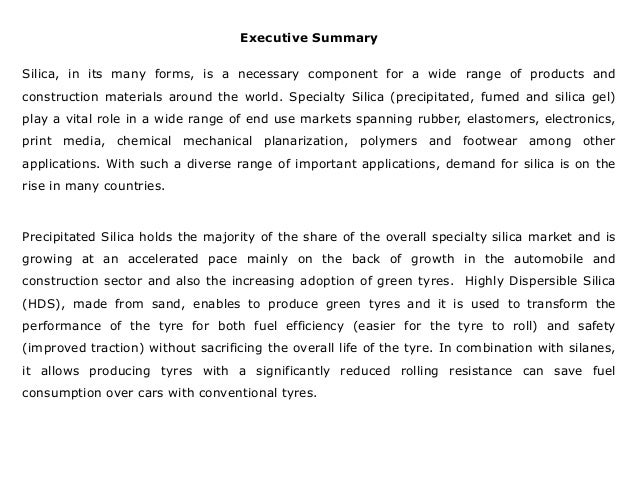 global specialty silica market size share The global specialty silica market size was estimated at usd 266 billion in 2016 and is expected to grow at a cagr of 49% over the forecast period increasing rubber consumption in tire.