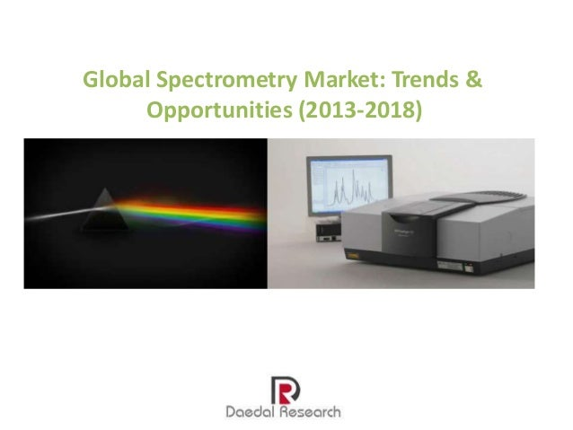 global molecular spectroscopy market 2014 2018 Global molecular spectroscopy market is projected to reach usd 6,4435 million  by 2024, from usd 3,9598 million in 2016, growing at a.