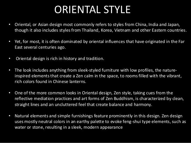 Affordable Global Style Interior Design With Zen Meaning