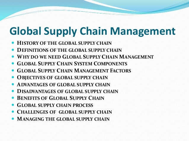 samsonite global supply chain International business chapter 17  global manufacturing and supply-chain management 1) in order to assure the quality of its products, samsonite _____.