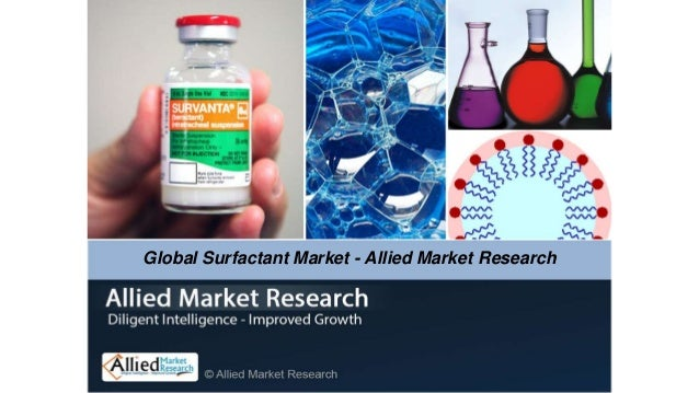 Global Surfactant Market - Allied Market Research
