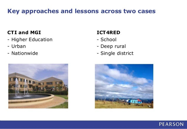 2 Case Studies at National Level: 1:1 Educational Computing Initiatives in South Africa Slide 3
