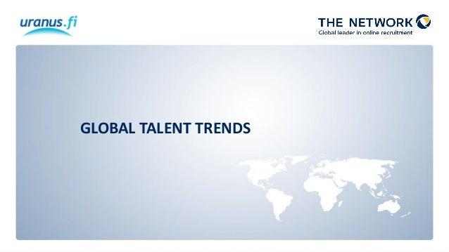 GLOBAL TALENT TRENDS