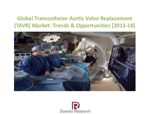 Global Transcatheter Aortic Valve Replacement (TAVR) Market: Trends & Opportunities [2013-18]