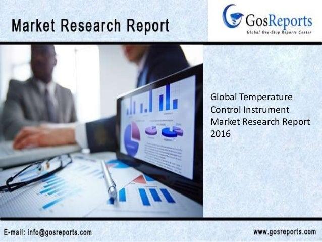 Global Temperature Control Instrument Market Research Report 2016