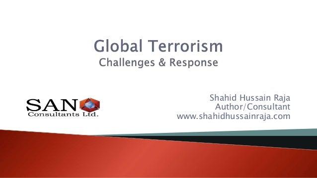 Shahid Hussain Raja Author/Consultant www.shahidhussainraja.com