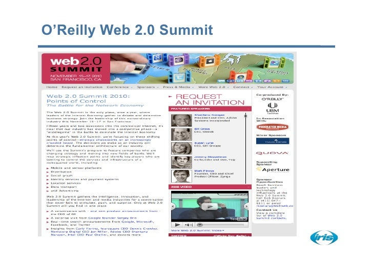 O'Reilly Web 2.0 Summit