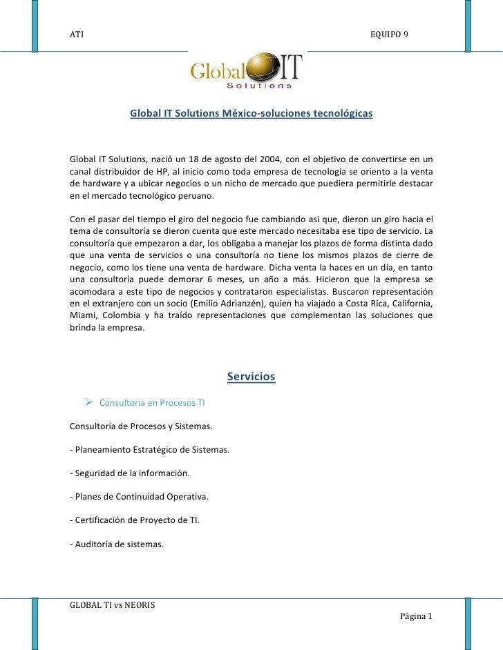 1824990-16065500<br />Global IT Solutions México-soluciones tecnológicas<br />Global IT Solutions, nació un 18 de agosto d...