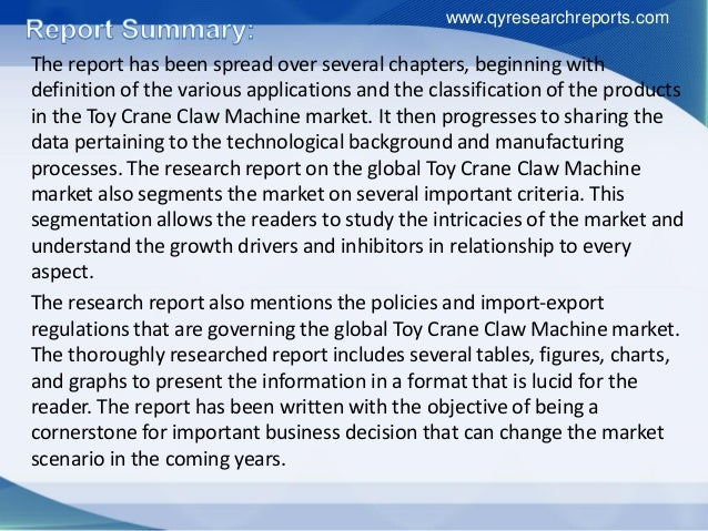 The report has been spread over several chapters, beginning with definition of the various applications and the classifica...