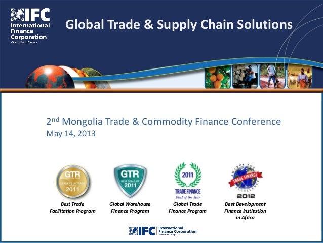 International Trade Finance | Forum for International ...