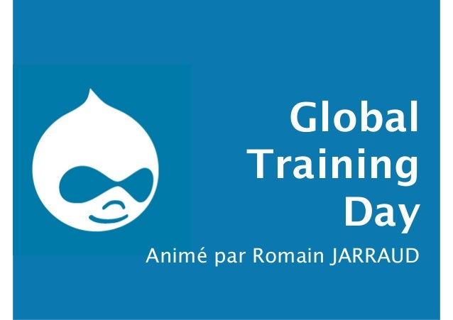 Global Training Day Animé par Romain JARRAUD
